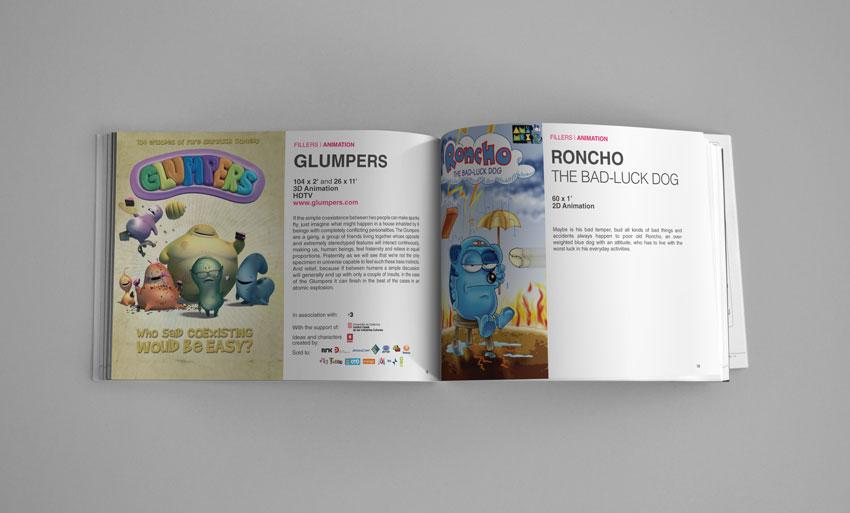 Catálogo Internacional de series de Dibujos Animados y de series Documentales para Motion Pictures