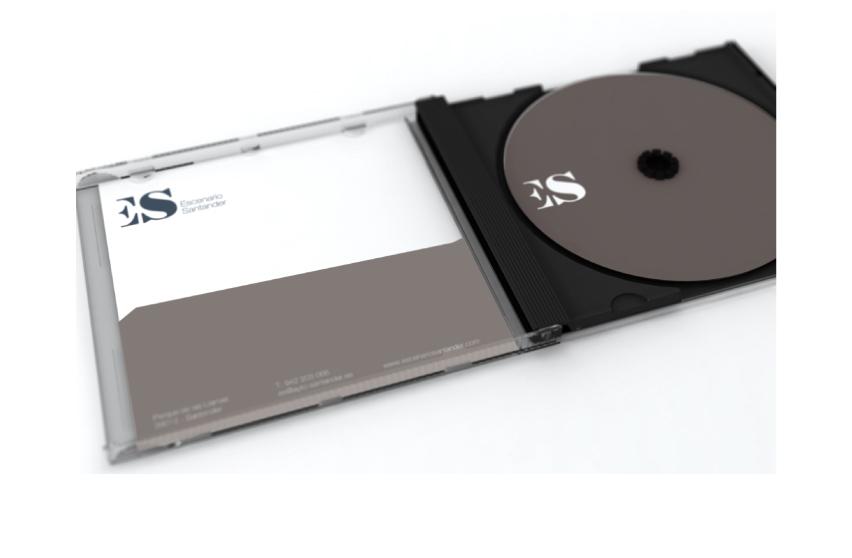 Carcasa CD - DVD // Escenario Santander