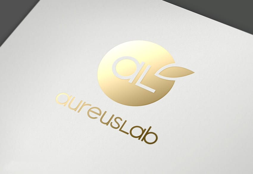 02-logo-Aureuslab-efecto-oro