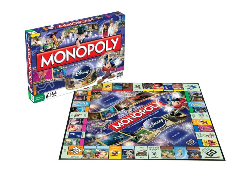 Monopoly edición Disney post entrada blog Limonada Estudio