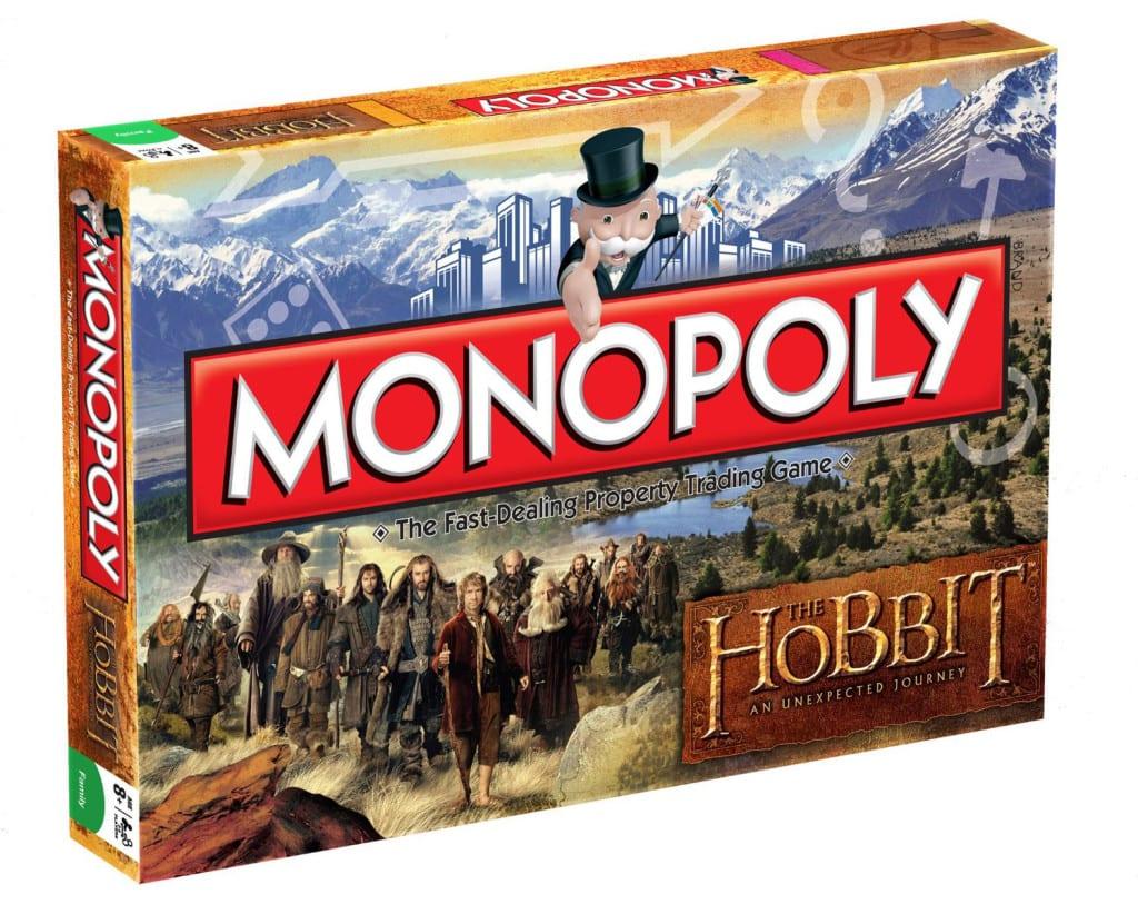 Monopoly edición El Señor de los Anillos The Hobbit post entrada blog Limonada Estudio