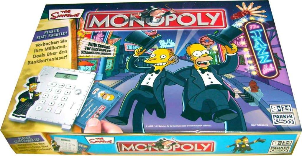 Monopoly edición The Simpsons post entrada blog Limonada Estudio