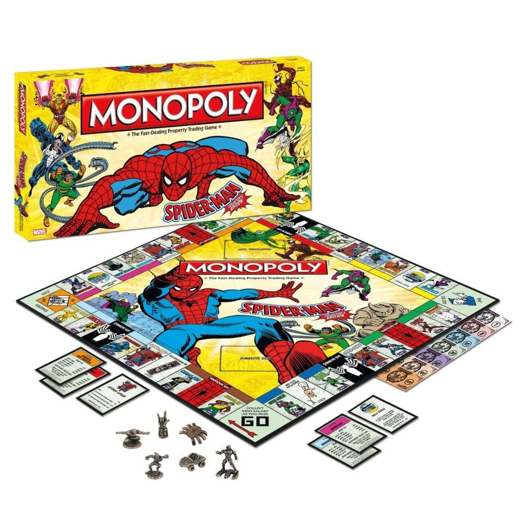 monopoly edición Spiderman post entrada blog Limonada Estudio